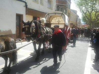 Gran participació a la Festa dels Tres Tombs