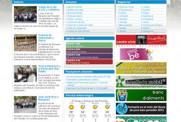 L'Ajuntament estrena la nova plataforma web