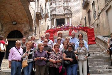 Visita banyerenca a la Festa de les Flors de Girona