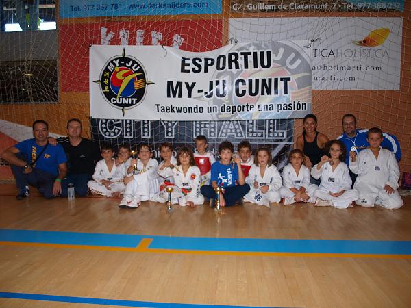 El Taekwondo Banyeres participa a l'Open Nacional de Salou
