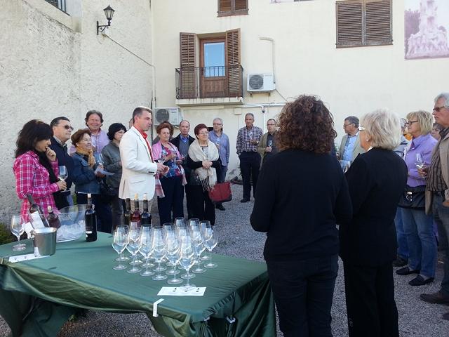 Tastavins en commemoració al naixement de Josep Cañas