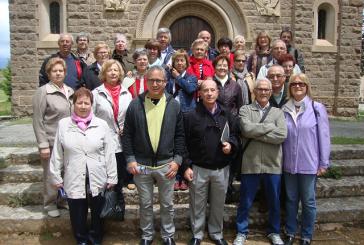 """El col·lectiu """"El Farcell"""" visita la Colònia Vidal de Puig-Reig"""