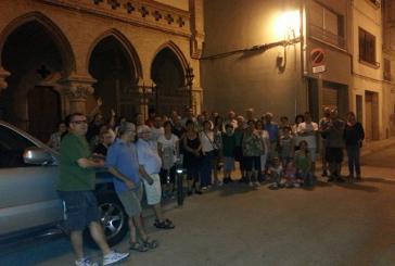 50 persones participen a la caminada nocturna a L'Arboç