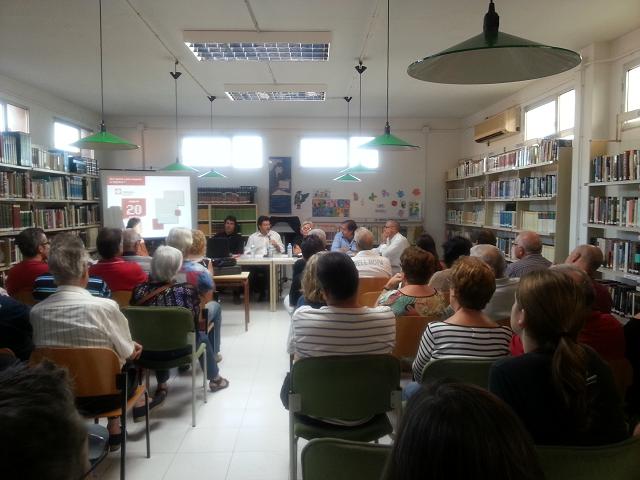 Un centenar de persones assisteixen a les xerrades del Logis Penedès a càrrec de Cimalsa