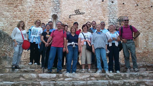 Caminada a Santa Oliva organitzada per la Societat Nova