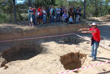 """Visita al jaciment """"Font de la Canya"""" i al Celler Art Cava"""