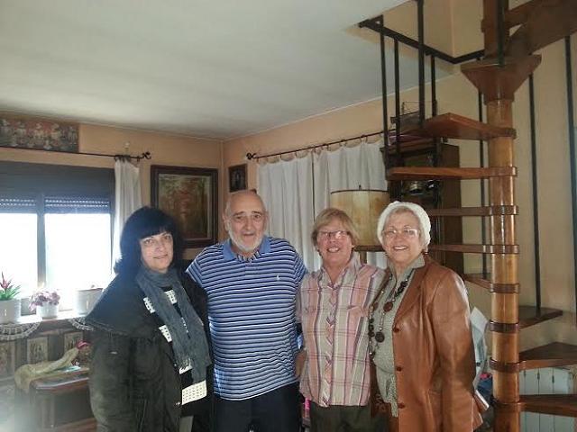 50è aniversari de noces d'uns veïns de Casa Roja