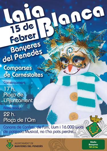 """""""La Laia Blanca"""", la nova festa de Banyeres del Penedès"""