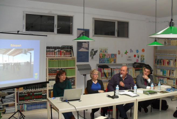 Presentació del projecte del camp de futbol i activitats esportives