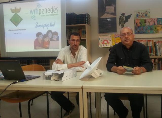 WifiPenedès es presenta a Banyeres