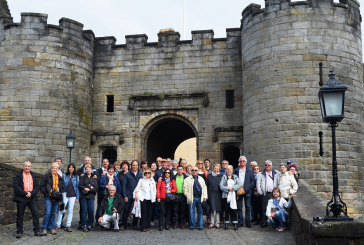 Una quarantena de banyerencs participen al viatge a Escòcia