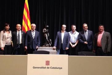 Presència de l'Ajuntament a l'acte del 9-N al Palau de la Generalitat