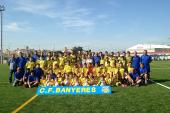 Es presenta el CF Banyeres i el futbol base per la temporada d'enguany