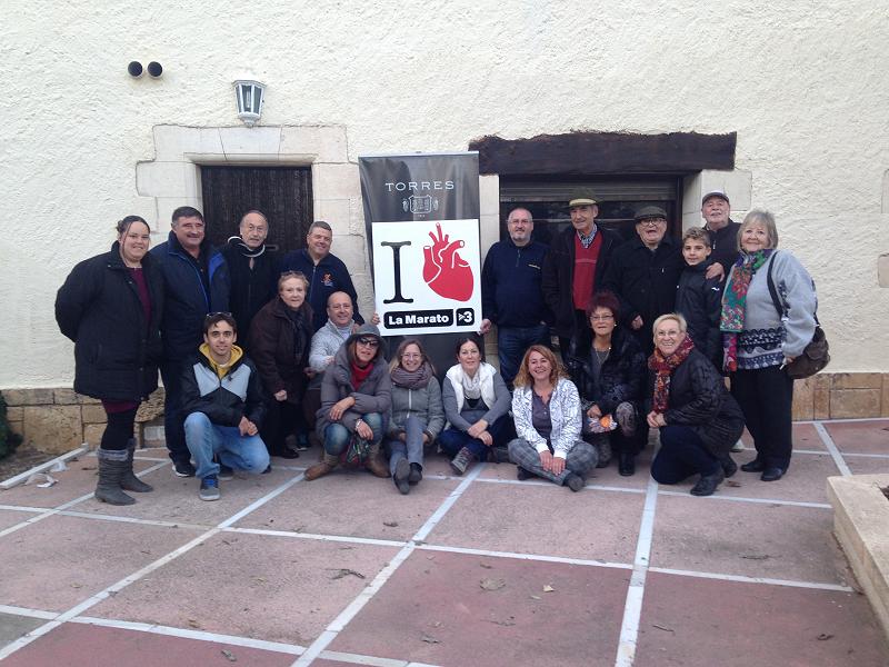 El Priorat de Banyeres amb la Marató de TV3