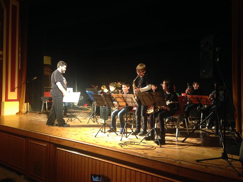 Concert de l'escola de música Contrapunt per Santa Eulàlia