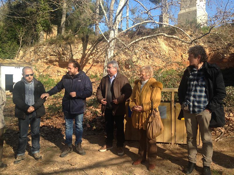 Inauguració de la restauració ambiental i creació d'itineraris a la riera de Sant Miquel