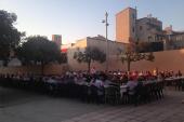 La llar d'avis celebra la revetlla de Sant Joan amb un berenar-sopar