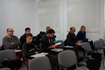 9 banyerencs realitzen el curs de carretoner específic impartit per l'Ajuntament