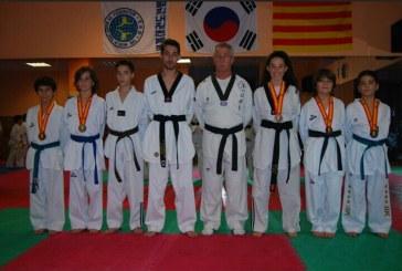 Dos banyerencs s'enfilen al podi del Campionat d'Espanya de Taekwondo