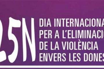 Manifest institucional pel Dia Internacional per a l'eliminació de la violència envers les dones