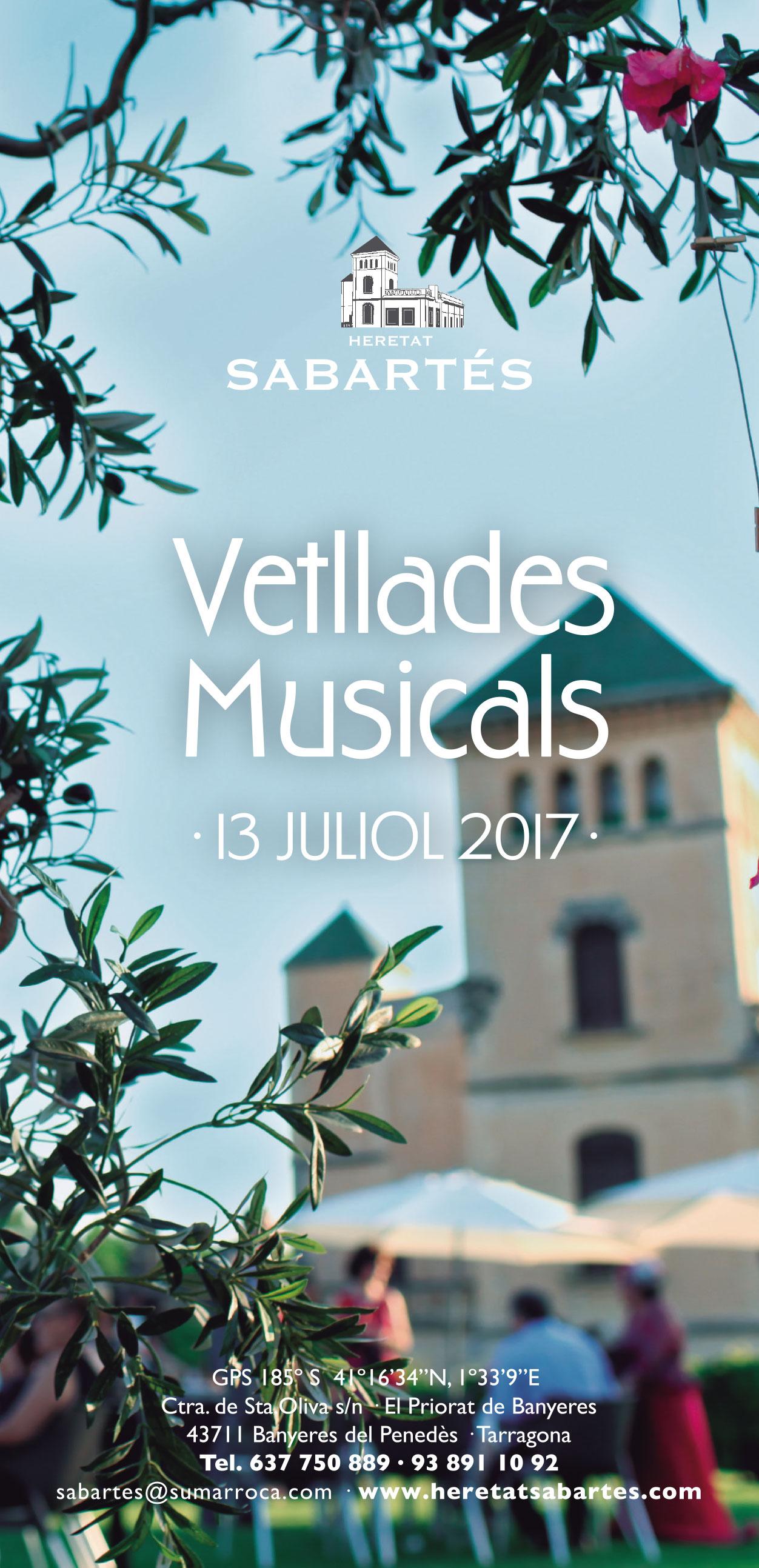 Tornen les Vetllades Musicals a Heretat Sabartés