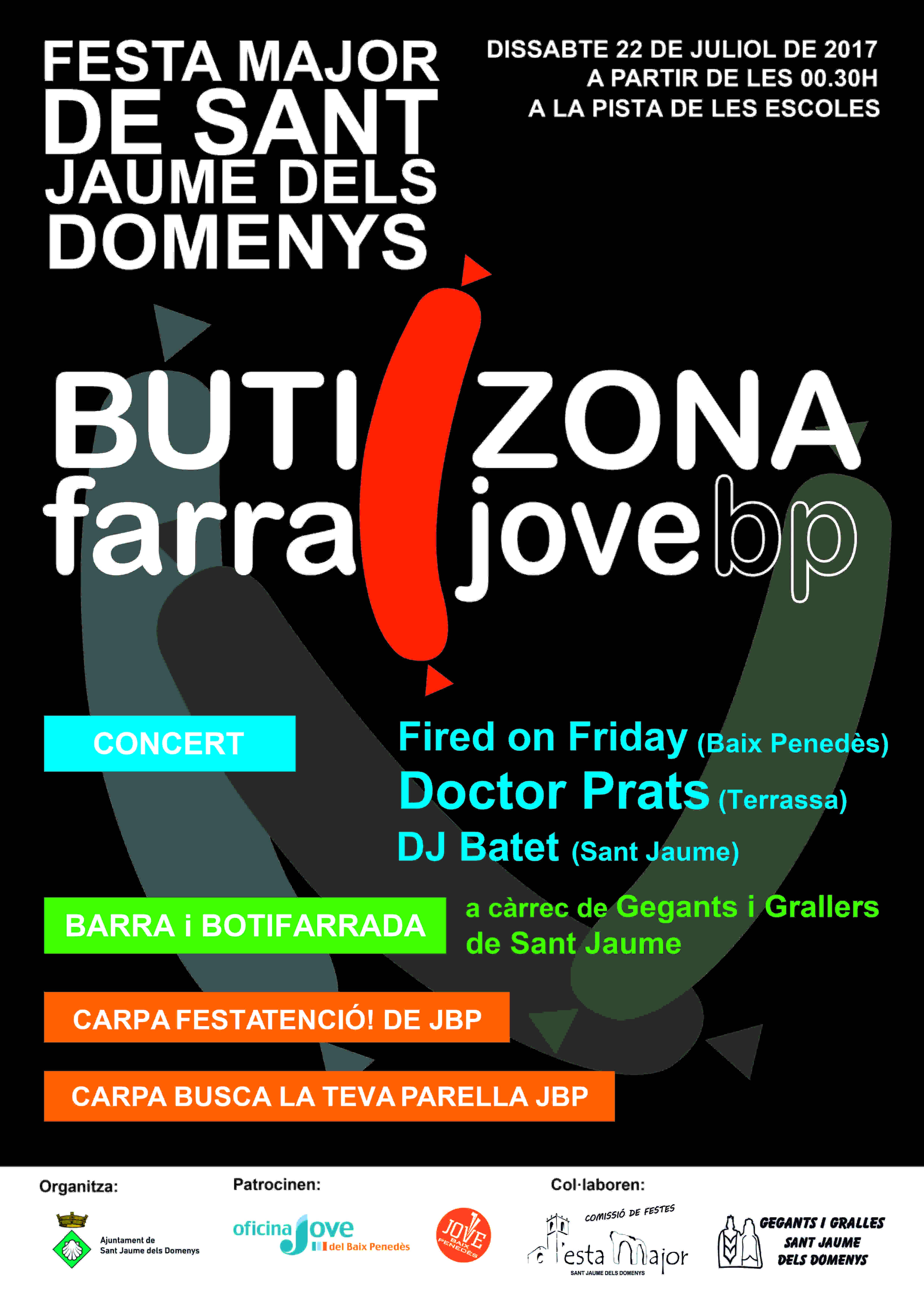 Arriba l'edició 2017 de la ButiZonaFarraJoveBP