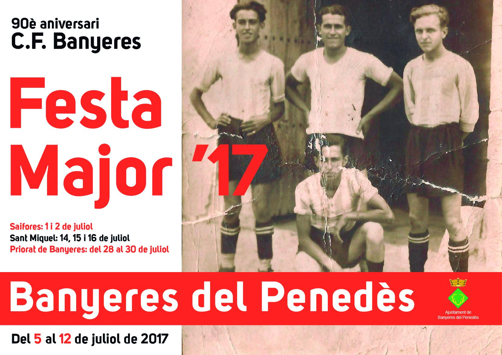 Banyeres del Penedès es vesteix de Festa Major