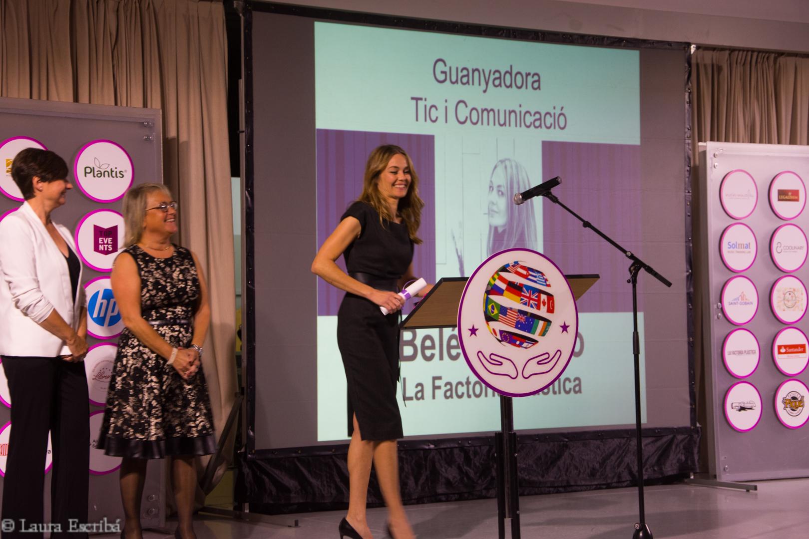 La banyerenca Belen Cossio, guardonada a la segona edició dels Premis Talent Femení