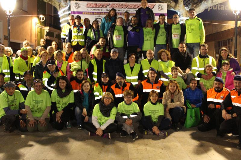 Totes les imatges de la 1a Sant Silvestre Solidària l'Arboç-Banyeres del Penedès