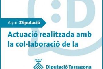 Subvenció de la Diputació de Tarragona pel projecte d'arrenjament de les voreres del Priorat