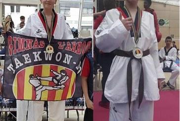 Els banyerencs Isaac Vives i Kevin Rivero pugen al pòdium a la XVI Copa d'Andorra de Taekwondo