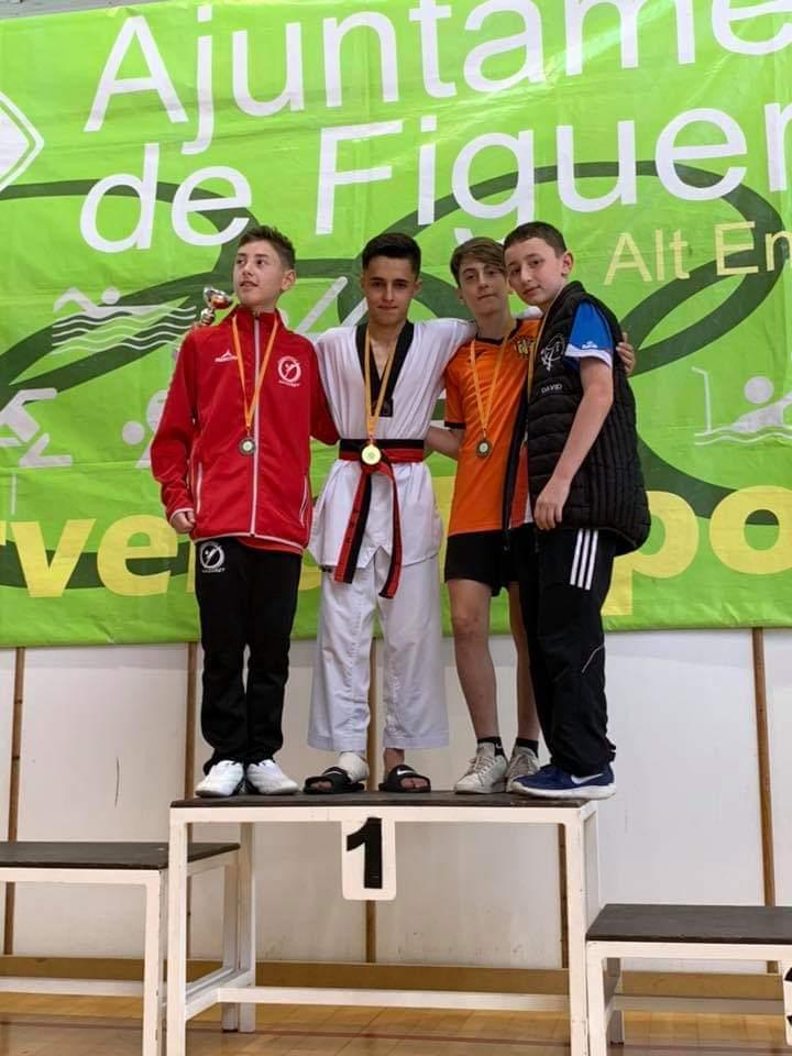 El banyerenc Isaac Vives subcampió del cinquè Open de Taekwondo de Figueres