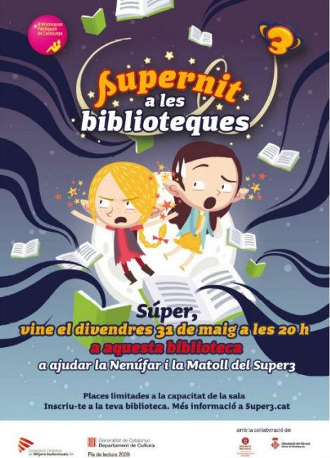 """La Biblioteca Municipal Ernest Lluch de Banyeres del Penedès acollirà la segona edició de la  celebració de la """"Supernit a les biblioteques"""""""