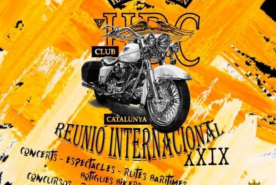 Banyeres del Penedès a punt per acollir la XXIX Trobada Internacional de Harley Davidson Club Catalunya