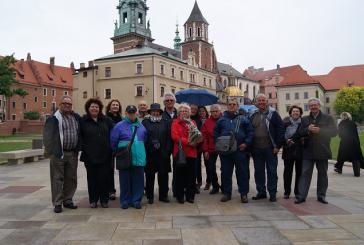Una quinzena de banyerenques i banyerencs participen al viatge a Polònia
