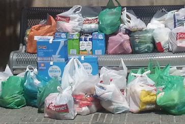 El Banc d'Aliments de Banyeres recapta 500kg de menjar