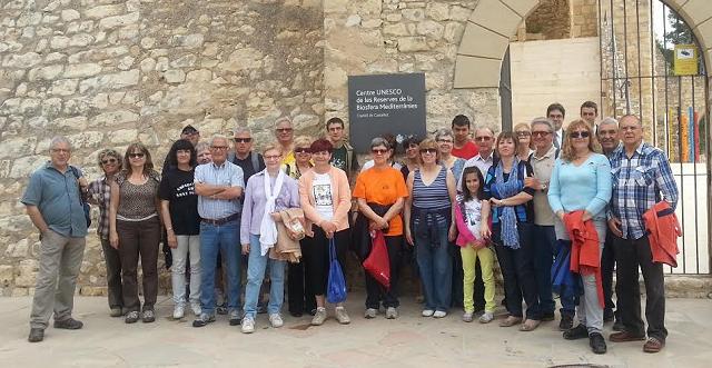 Caminada i visita guiada al Castell de Castellet