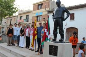 L'Ajuntament de Banyeres del Penedès inaugura la quarta escultura de Josep Cañas al carrer