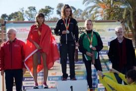 La banyerenca Griselda Serret campiona d'Espanya sub16 en el campionat de marxa que es va fer a Sant Salvador i Coma-ruga